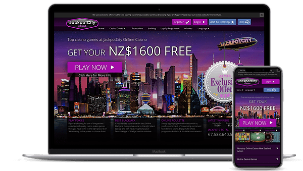 jackpotcity casino homepage login