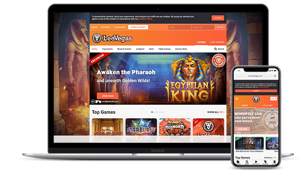 leoveags casino homepage login