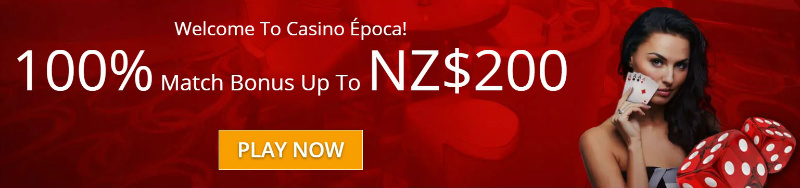 epoca NZ welcome bonus